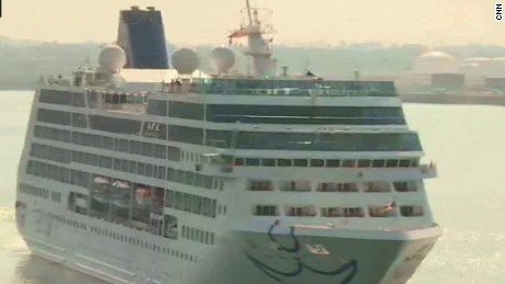 U.S. cruise ship makes historic arrival in Havana