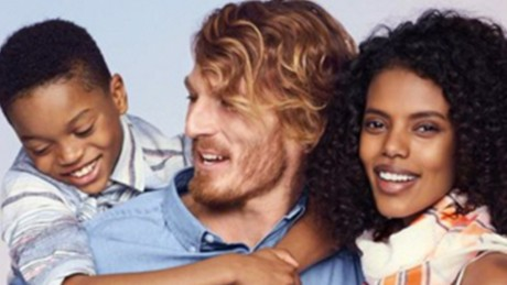 Old Navy attacked for interracial ad