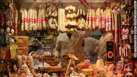A homeless man was arrested after stealing sausage and cheese from a Genoa supermarket, worth €4.07 ($4.50).