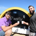 Matteo Squizzato and Stefano Buiani from watly in ghana