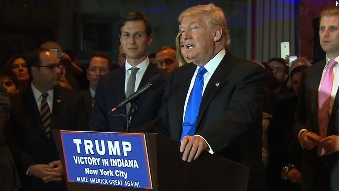 Donald Trump: Presumptive GOP nominee; Sanders takes Indiana