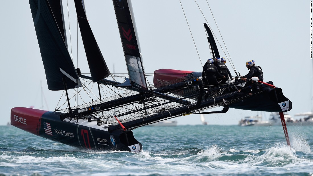 Formed in 2000, the American team is seeking to win its third successive America's Cup, having triumphed in 2010 and 2013.