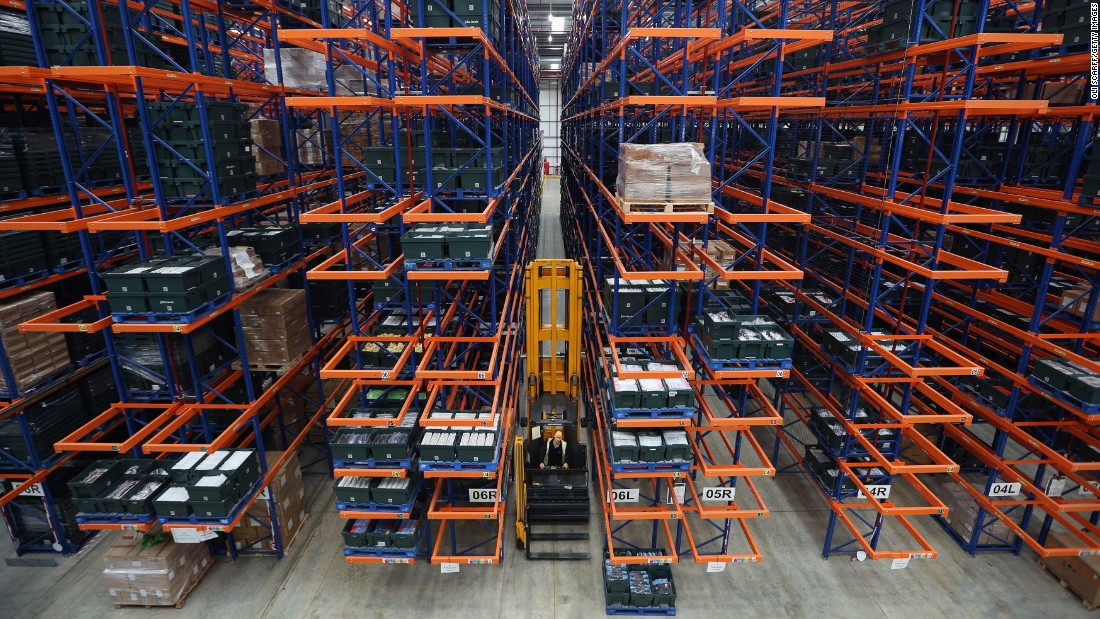 "The drones could change how warehouses are built. ""We've heard from people who are thinking about designing new warehouses which are drone friendly,"" Leppan says."