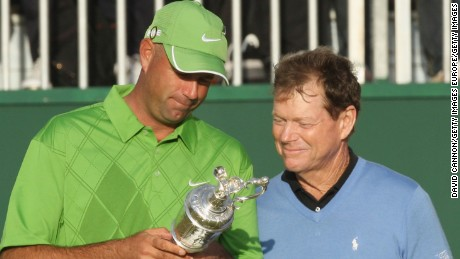 Cink stood in the way of Tom Watson's British Open fairytale in 2009.