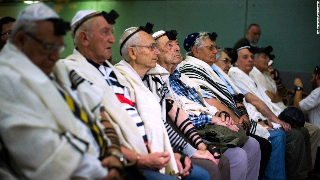 """Today we feel we got back what was missing,"" Holocaust survivor Solomon Moshe said after the celebrations."