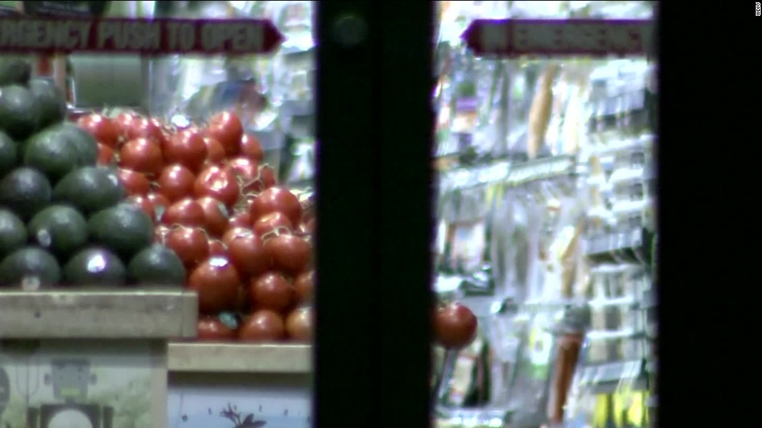 Man sprayed poison on open food at grocery stores, FBI says