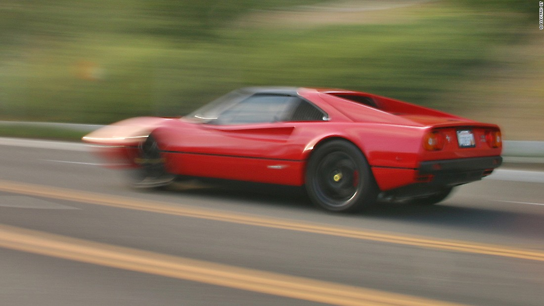 California-based company, Electric GT has turned this 1978 Ferrari 308 GTS into an electric car.