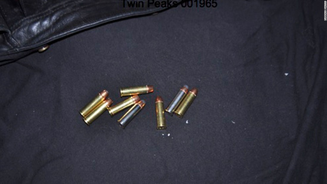 These are some of the bullets found on the scene by investigators. According to the Waco Police Department, 44 shell casings recovered from the Twin Peaks scene were fired by law enforcement weapons.
