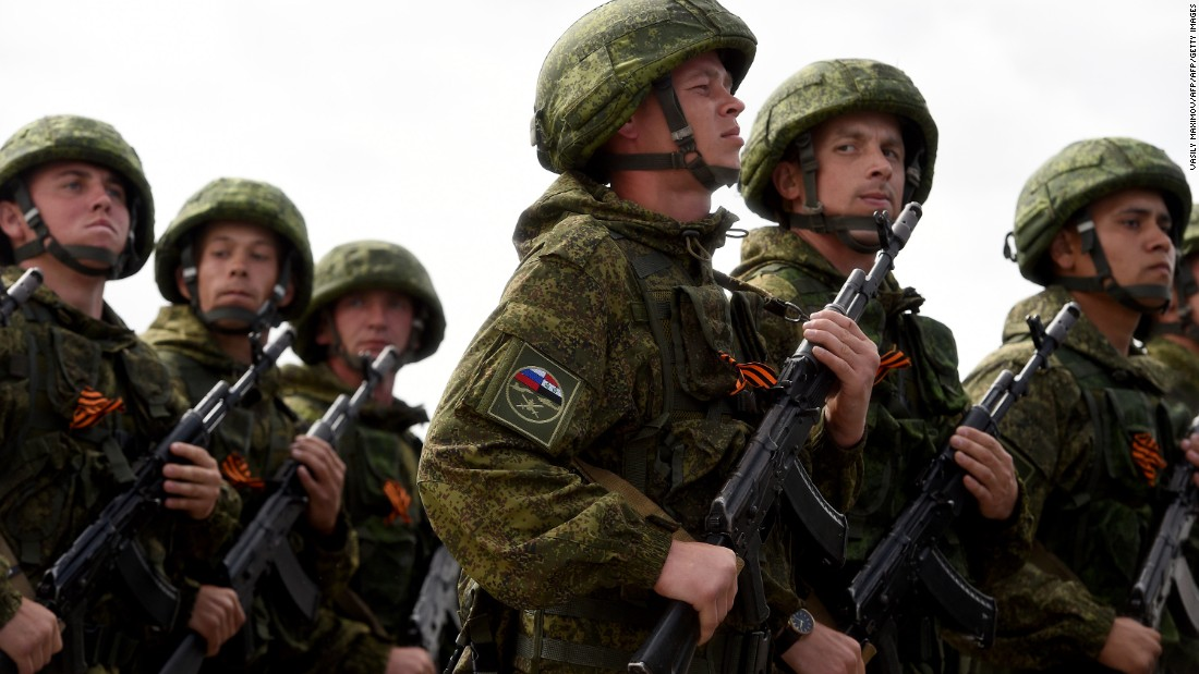Russia flexes its military might in Syria