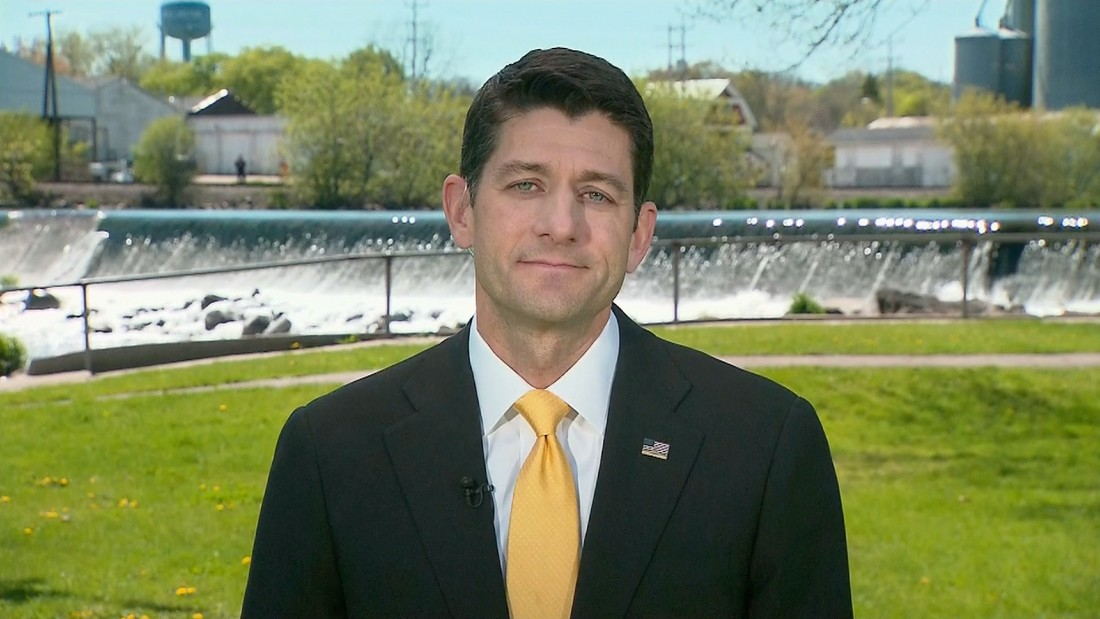 Paul Ryan: 'I'm just not ready' to back Donald Trump