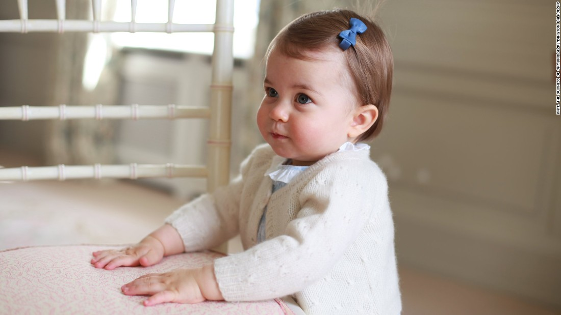 "One of the most famous Charlottes of today is surely the British princess, whose parents are Prince William, Duke of Cambridge, and Catherine, Duchess of Cambridge. Her Royal Highness Princess Charlotte Elizabeth Diana of Cambridge was born May 2, 2015, and <a href=""http://www.cnn.com/2016/05/01/europe/uk-princess-charlotte-photos/"">recently celebrated her first birthday</a>."