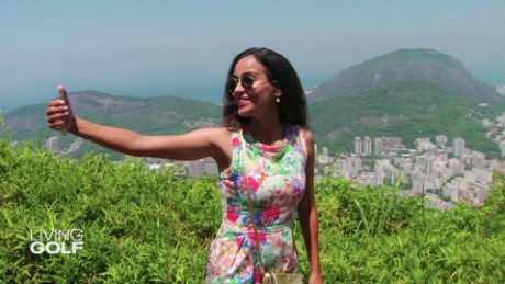 Around Rio with one of Brazil's top female golfers