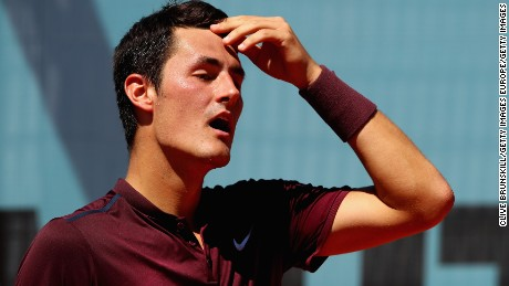 Tomic, 24, has been a high-profile player for nearly a decade.