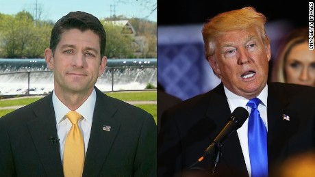 Paul Ryan's stunning comment on Donald Trump