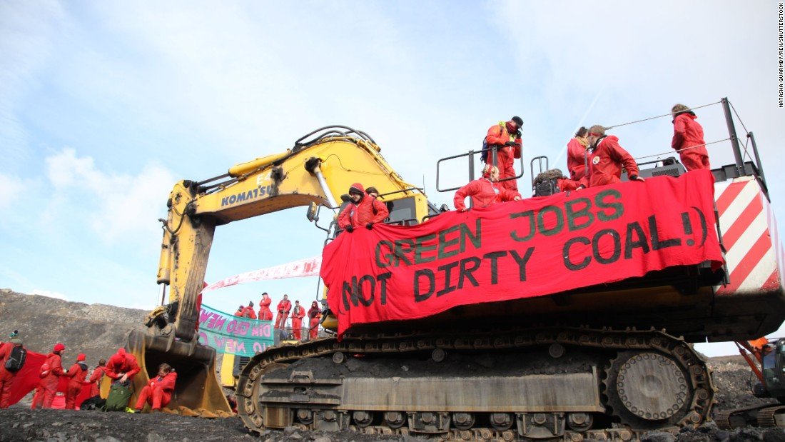 Sorry, coal jobs are going away