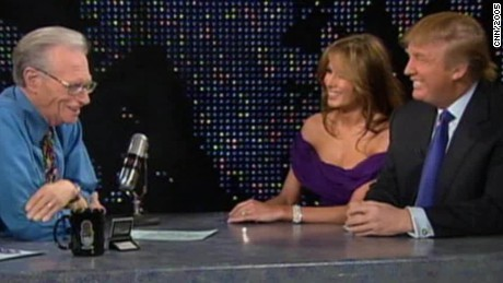 donald trump melania trump 2005 entire larry king live intv_00031417.jpg