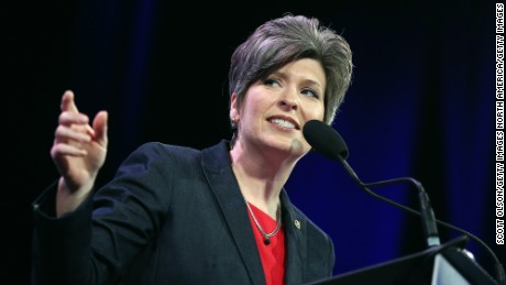 Ernst runs into the anti-Trump resistance in rural Iowa