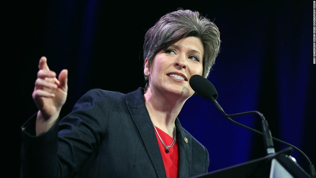 Joni Ernst, Iowa GOP senator, says US-China trade war 'hurtful' to farmers - CNNPolitics