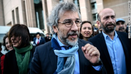 Turkish opposition Cumhuriyet daily's editor-in-chief Can Dundar