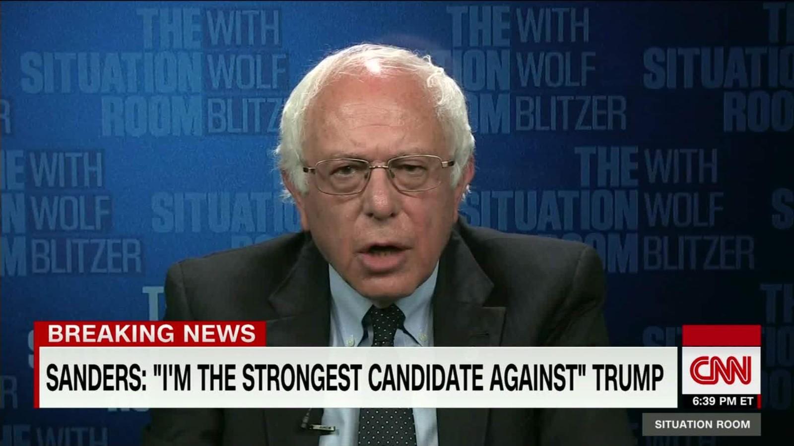 Bernie Sanders Open To Being Hillary Clintonu0027s VP   CNN Video