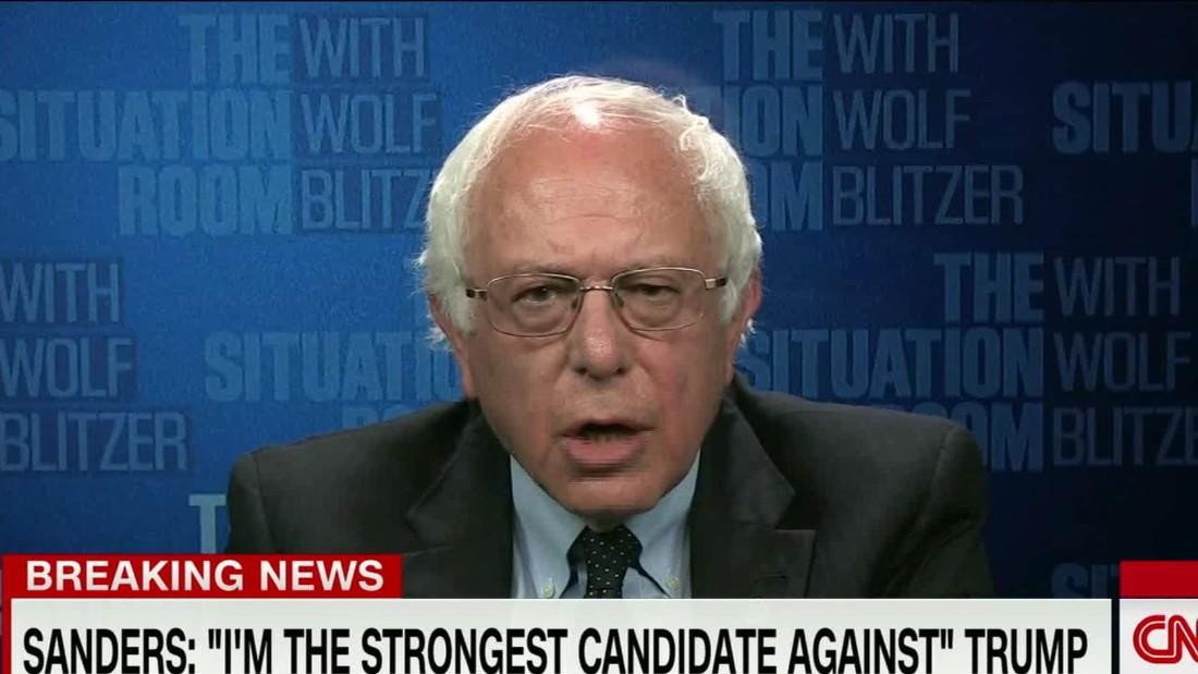 Sanders leaves door open to being Clinton's VP