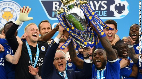 Leicester City won the Premier League title for the first time in its history last season.