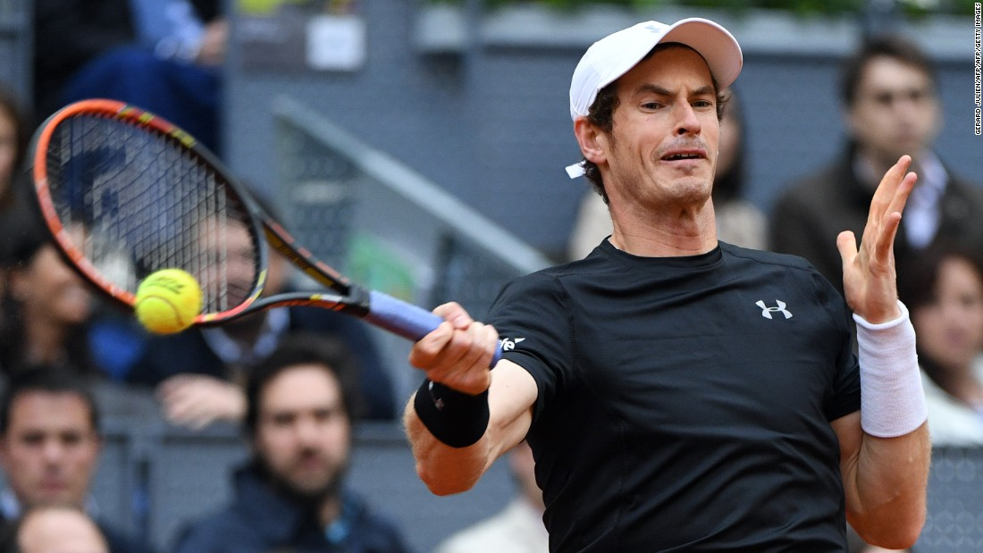 Murray was hoping to win in Madrid to preserve his status as World No.2.