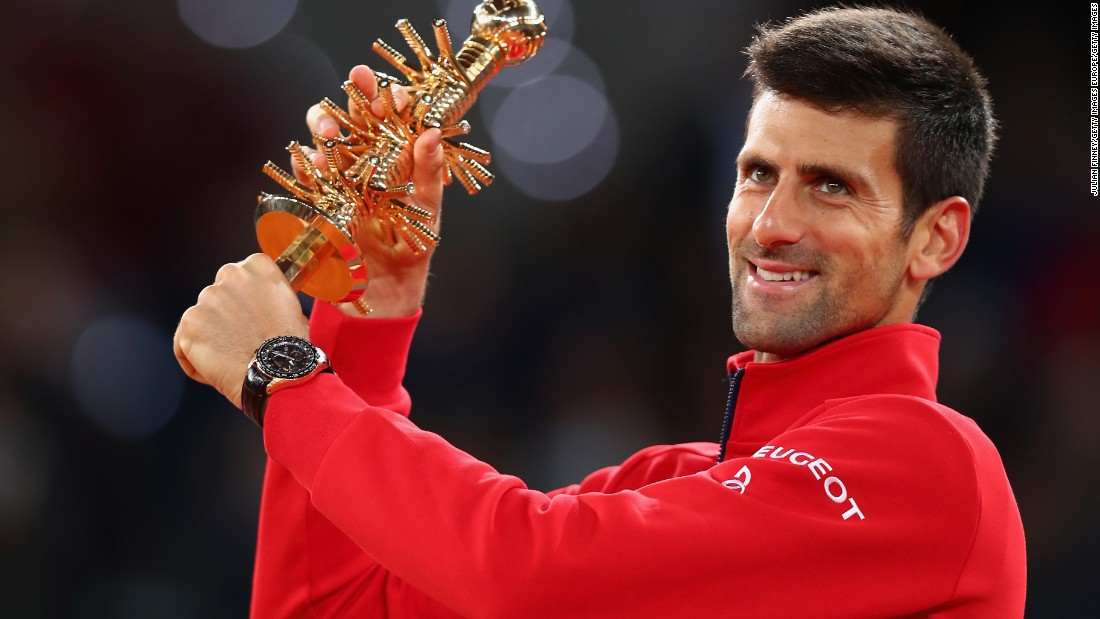 The World No 1.'s triumph means he has now won more ATP Masters 1000 titles (29) than any other player.