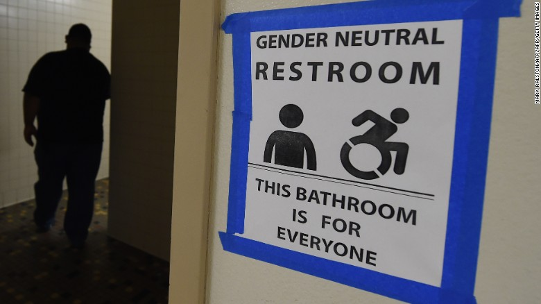 Us + public bathrooms? It's complicated