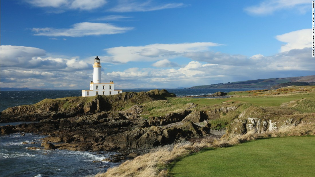 <strong>Turnberry:  </strong>Perhaps best known now for being owned by US President Donald Trump, Turnberry on Scotland's west coast  is a spectacular Open venue which underwent a recent revamp.