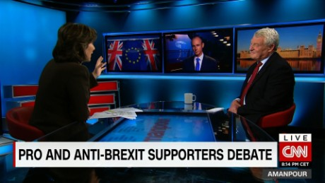 Debate: Could brexit endanger peace?