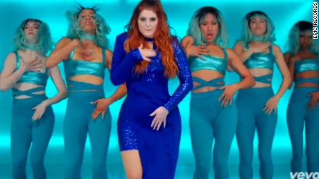 Meghan Trainor insulted by altered waist in video