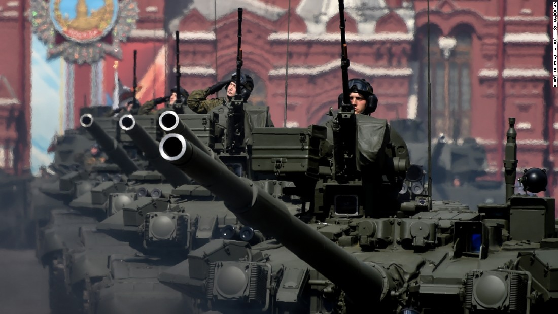 Russia's military might: Putin's foreign policy in numbers