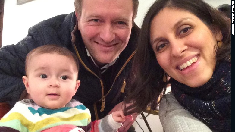 Marking one year since British-Iranian's arrest
