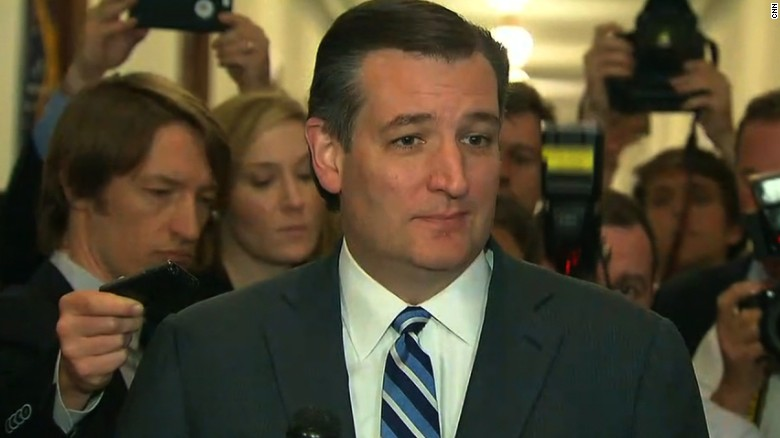 Ted Cruz not ruling out re-entry