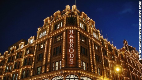 Woman who spent £16,000,000 in Harrods is arrested and faces extradition