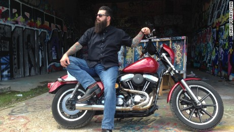 Jake Carrizal was among the first of the Bandidos to pull into the parking lot at Twin Peaks.