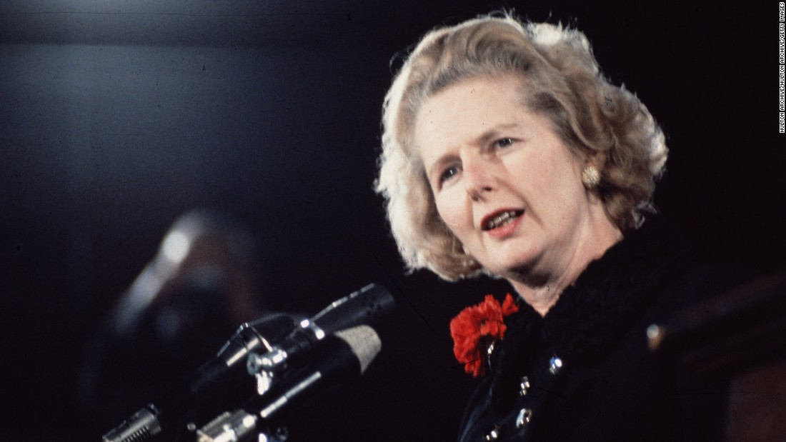 "<strong>Margaret Thatcher:</strong> The United Kingdom's first female Prime Minister, <a href=""http://www.cnn.com/2013/04/08/world/europe/uk-margaret-thatcher-dead/"" target=""_blank"">who was called the ""Iron Lady""</a> for her personal and political toughness, served from 1975 to 1990. She was forced to resign in 1990 during an internal leadership struggle."