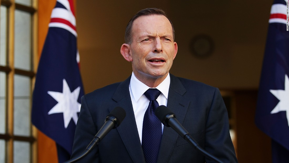 "<strong>Tony Abbott:</strong> One of Australia's most controversial leaders in recent history, Abbott <a href=""http://www.cnn.com/2015/09/14/asia/australia-tony-abbott-leadership-challenge/"" target=""_blank"">was toppled in a leadership challenge</a> just two years into his role. After his final speech, Abbott ended his term with a tweet: ""Thank you for the privilege of being Prime Minister. My love for this country is as strong as ever."""