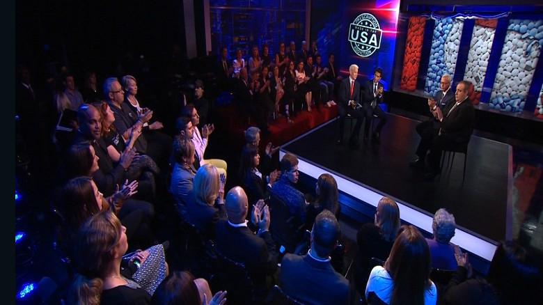 CNN's 'Prescription Addiction' town hall in 90 seconds.