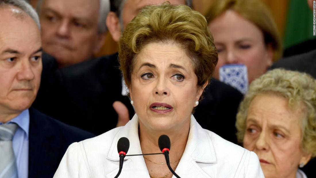 Rousseff impeachment vote: President calls it a 'coup'
