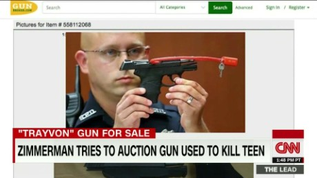 george zimmerman trayvon martin gun auction polo sandoval the lead_00001018