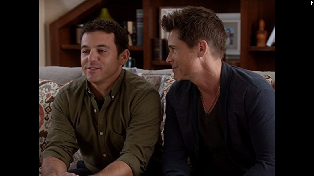 "Rob Lowe and Fred Savage returned to TV to star in ""The Grinder,"" a series about an actor who joins his family's law firm. Viewers didn't flock to it, so Fox dropped it."