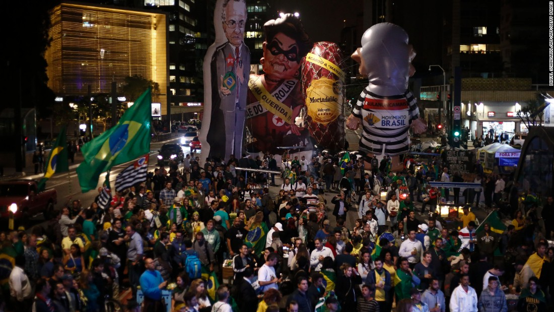 "The decision to impeach Rousseff came after about 20 hours of debate in the Senate. She's been suspended for 180 days, and while she'll retain the title of President, she won't perform any of the duties of the office. <a href=""http://www.cnn.com/2016/05/12/world/gallery/rousseff-keeps-loses/index.html"">Rousseff: What she keeps, what she loses</a>"