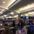 Atlanta security wait baggage claim irpt