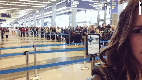 TSA security lines frustrate travelers
