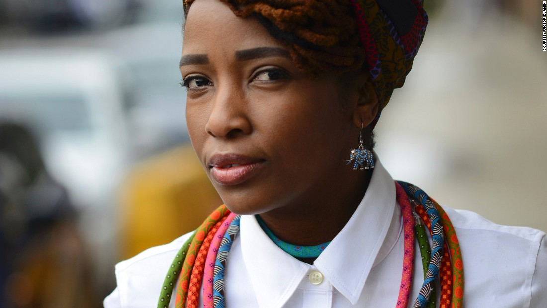 "The city's street style has a relationship with its history on race and politics. It's Citizens are ""full of attitude, and much dressier than its laid-back cousins Cape Town and Durban"" according to Fashion Cities Africa. <br />Pictured: Lerato Tshabalala  Writer and Editor"