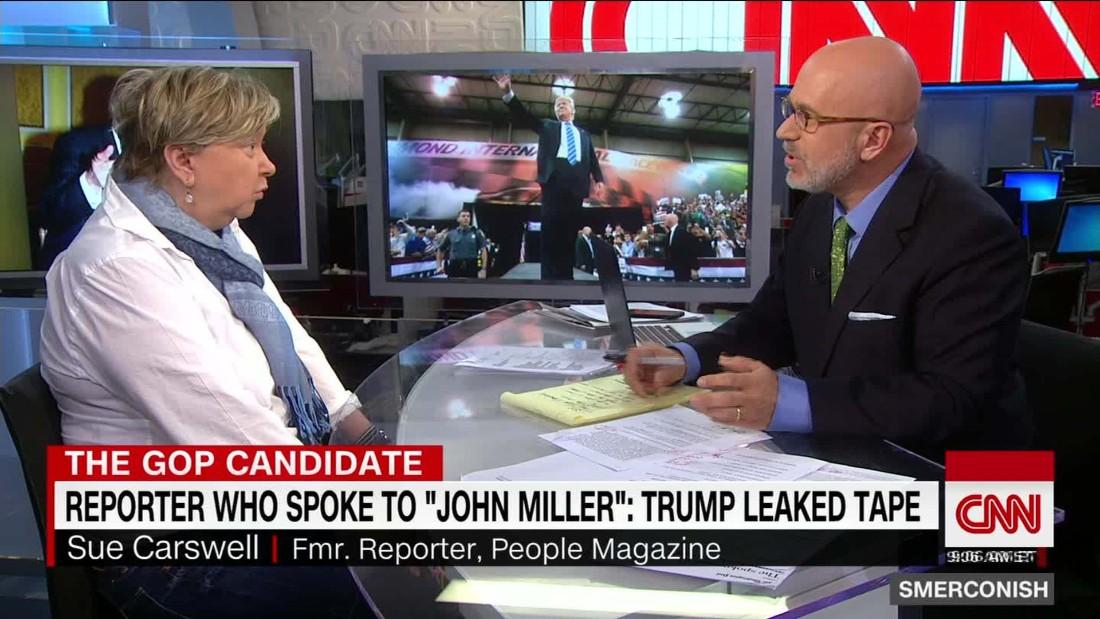 reporter trump leaked it cnn video