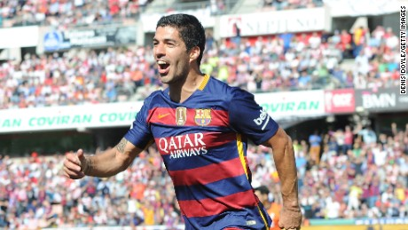 Luis Suarez has enjoyed a stellar year with Barcelona.