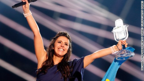 'Anti-Russian' song wins Eurovision, and Ukraine erupts with joy